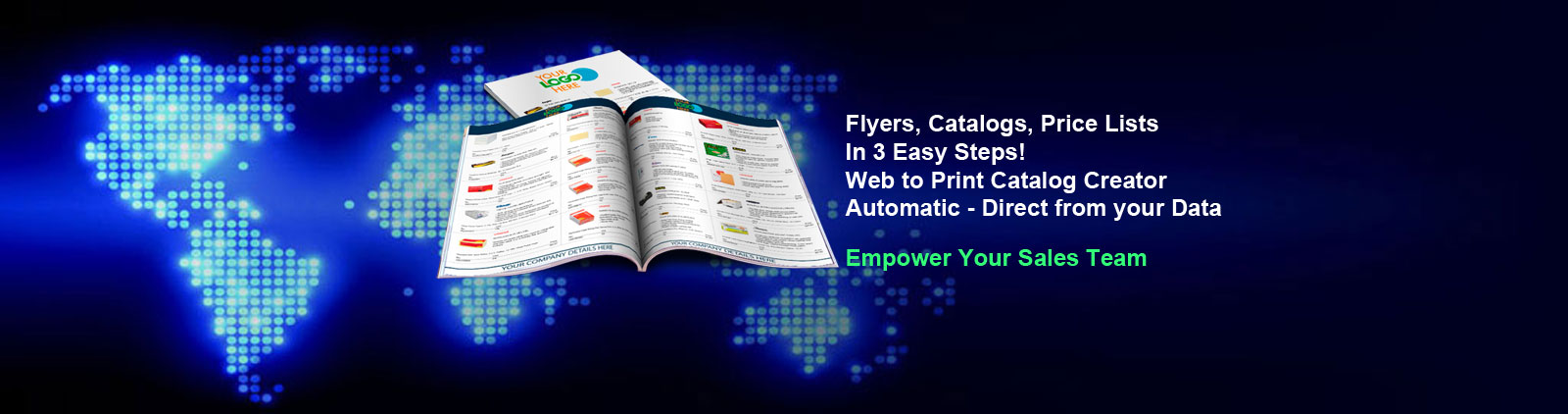 Activepoint - DIY Flyers, Catalogs, Price Lists In 3 Easy Steps with Activepoint's web to Print Catalog Creator
